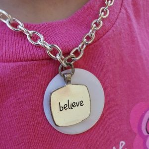 3 for $15 Sale Dream/Believe necklace